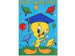Tweety-Happy-Graduation-Decorative-House-Flag
