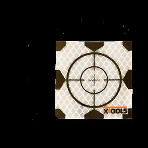 Target adesivi con croce di mira 60x60mm (conf. da 20 pz.) - € 35,00+IVA