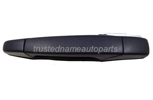 Black Textured Outside Outer Door Handle Left Rear Driver Side