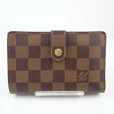 Authentic Louis Vuitton Wallet  Browns Damier 150442