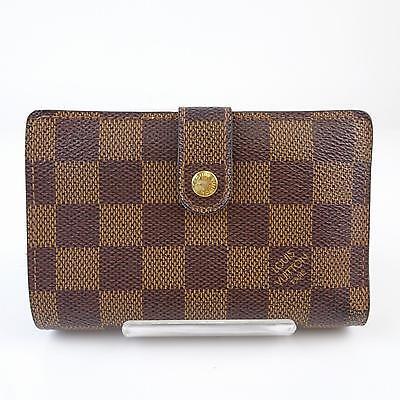 Authentic Louis Vuitton Wallet  Browns Damier 150442