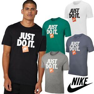 Nike-Just-Do-It-Men-039-s-T-Shirts-Classic-Logo-Sports-Tees-FREE-UK-SHIPPING