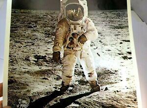 APOLLO-11-Moon-Landing-Picture-Genuine-Kodak-Ektachrome-EF-film-1969-NASA-PHOTO