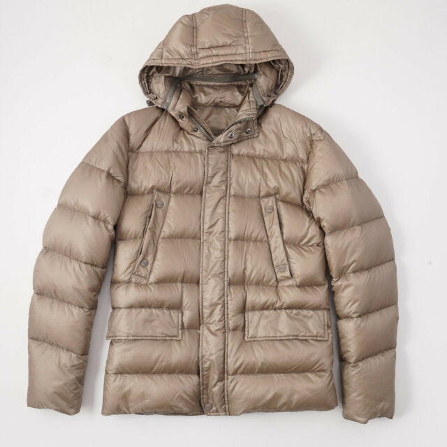 6710c58a5 New $1055 HERNO Golden Tan Quilted Mid-Weight Goose Down Jacket M (Eu 48)  Coat