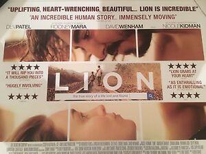 Lion-Original-Uk-Quad-Cinema-Poster