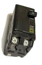 Square D Qob220 Qo Line Bolt On Circuit Breaker 20 Amp 2 Pole 120240 Volt