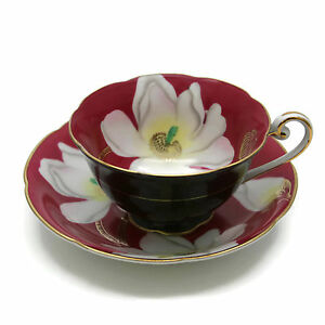 Image Is Loading Vintage Made In Occupied An Oversized Fl Teacup