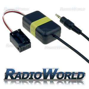 BMW-5-Series-X3-X5-E39-E53-MINI-Aux-IN-Input-Adapter-for-IPOD-MP3-3-5mm-Jack