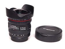 Canon EF 8-15 mm F/4 L USM Fisheye Zoom