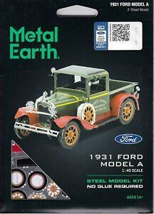 Fascinations Metal Earth 1931 Ford Model A Laser Cut 3D model a MMS197