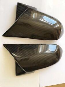 BMW M2 F87 2015 Carbon Fiber M Performance Wing Mirror Cover Caps OEM-Fit Pair