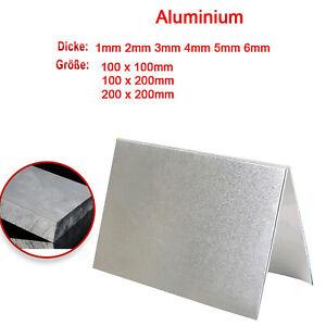Aluminiumblech 1mm bis 5mm Aluminium platte Bleche Platten Zuschnitte nach Auswahl