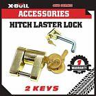 Hitch Laser Lock 2 Keys Compact Trailer Coupling - Caravan 4x4 Boat Anti-theft