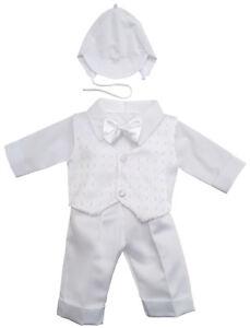 Taufanzug-Festanzug-Babyanzug-Anzug-Junge-Baby-Taufe-SET-weiss