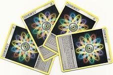 4x RAINBOW ENERGY #121/127 PLATINUM Pokemon Cards Special Energy MINT