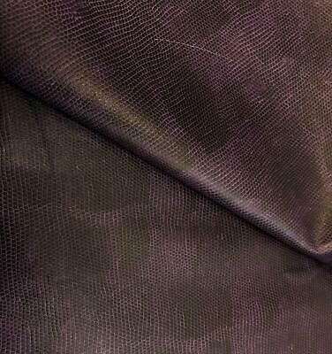 PU Leather Look Cloth Upholstery Fabric Material CAMOUFLAGE GREY