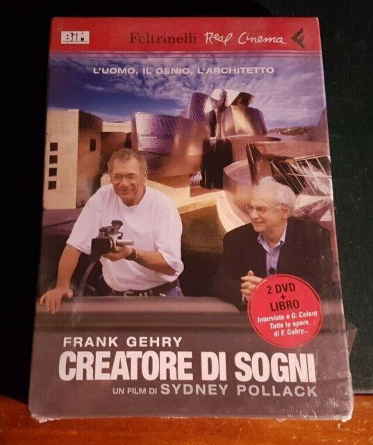 Sydney Pollack * FRANK GEHRY CREATORE di SOGNI * Feltrinelli 2 Dvd + Libro NUOVO