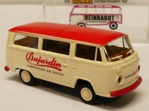 1//87 Brekina VW T2 Will Bier Bus Sondermodell Reinhardt