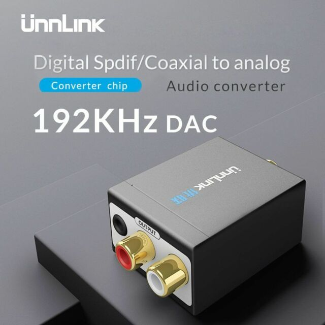 USB HD Audio Adapter to Digital Coax Toslink I2S Converter