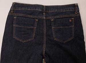 Simply-Vera-Vera-Wang-Straight-Leg-Cropped-Jean-Capri-Size-10