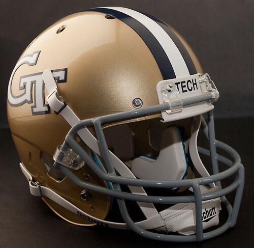 GEORGIA TECH YELLOW JACKETS 1967-1968 Schutt XP Gameday REPLICA Football Helmet