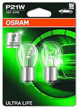 OSRAM p21w 12v 21w ba15s ultra Life 7506ult 2 unidad + + introducción precio + +