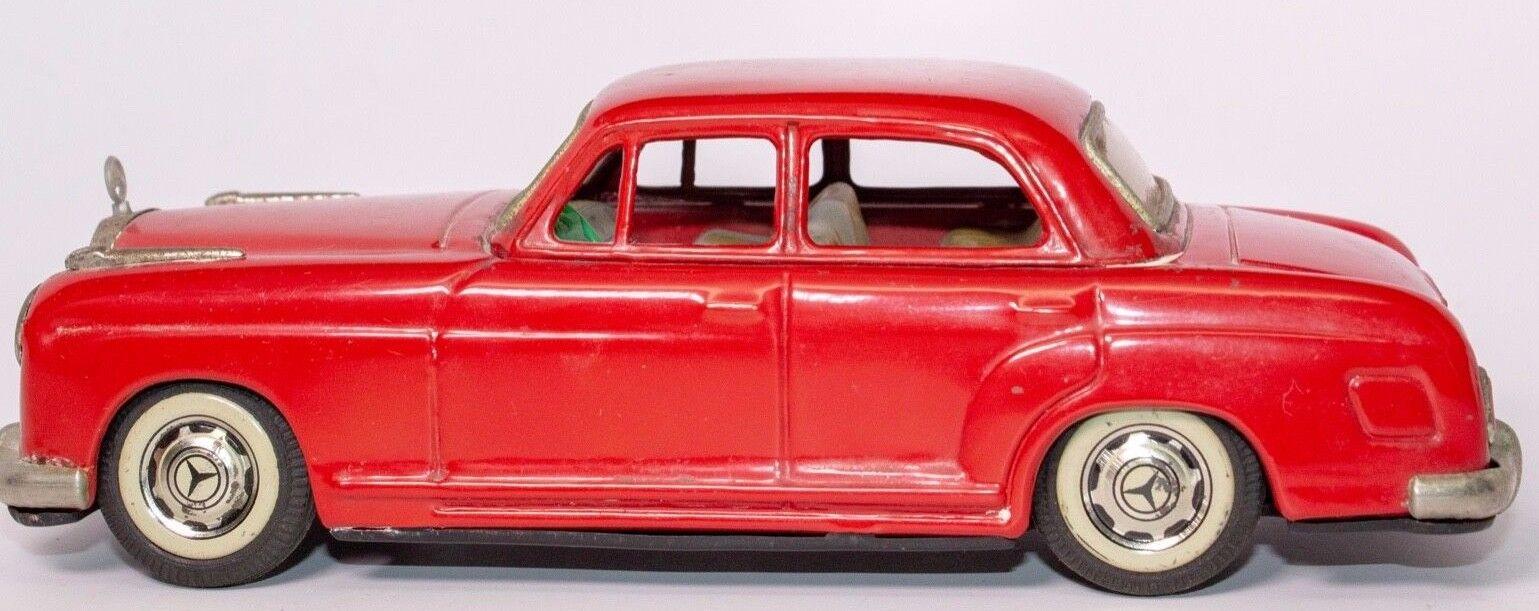 Vintage 50er Jahre Mercedes Benz 219 4-türer Sedan Japanisch Blech Reibung Auto