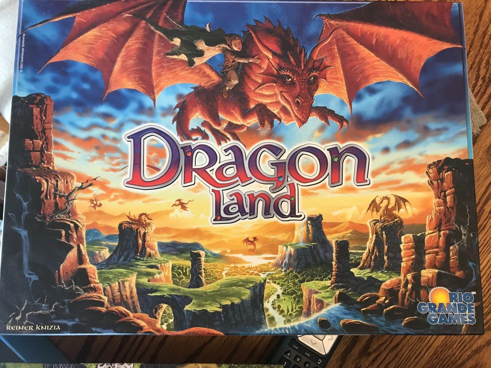 Dragón tierra  edición 2002 Juego De Mesa Usado Impecable