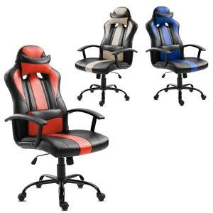 KEWAYES-Silla-de-oficina-GAMER-color-azul-deportiva-ergonomica-despacho-gaming