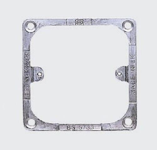 MK Logic Plus K2200 1 Gang Panel Mounting Frame
