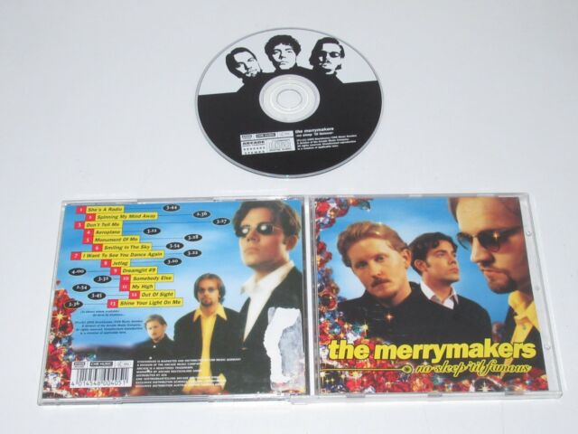 The Merrymakers/No Sleep 'Til Famous (CNR Music 8800405) CD Album