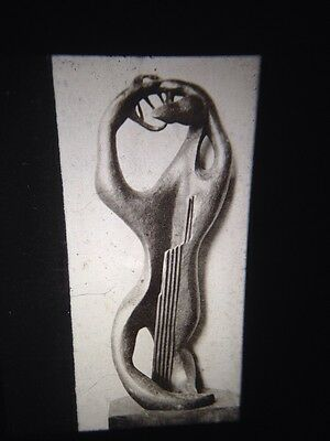 "Other Art Creative Henri Laurens ""great Amphion 1952"" French Sculpture 35mm Art Slide Clear-Cut Texture"