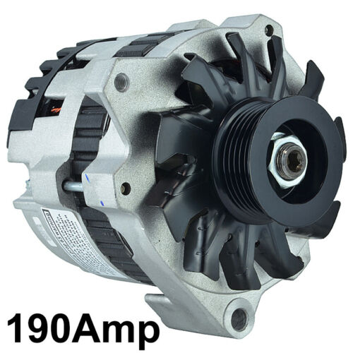 NEW 190A ALTERNATOR FITS CHEVROLET C1500 C2500 K1500 K2500 SUBURBAN 1992 1101620