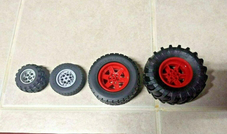 Lego Technic Engineering Wheel Tyre 81,6 x 44ZR Bugatti New