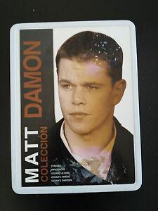 Matt-Damon-Collezione-5-Film-Ocean-S-Syriana-Tin-Box-Steelbook-5-X-DVD-3T
