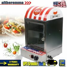 1500w Electric Hot Dog Steamer Bun Sausage Heater Warmer Machine 30 110 110v