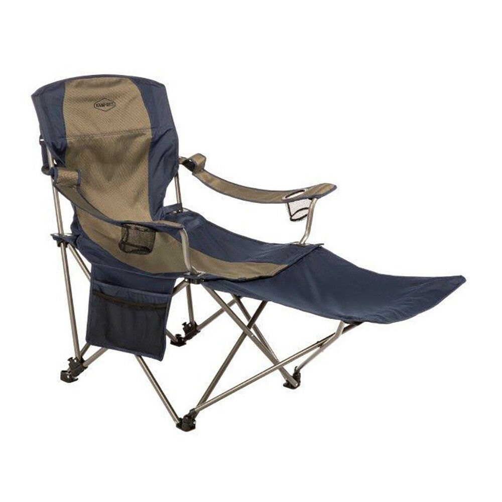 c5587ff20917 Kamp-Rite Outdoor Folding Tailgating Camping Chair with Detachable ...
