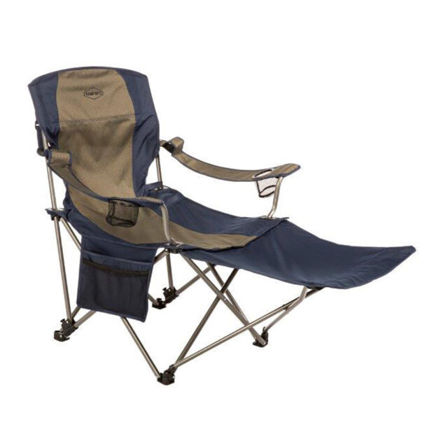 Awe Inspiring Kamp Rite Outdoor Folding Tailgating Camping Chair With Detachable Footrest Theyellowbook Wood Chair Design Ideas Theyellowbookinfo
