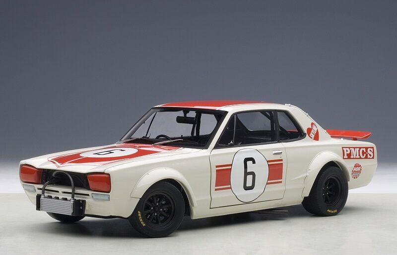 87176 Nissan Skyline GT-R Jpan GP gangant 1971 n° Réf. 6 1 18 Autoart