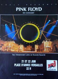 Advertising-Radio-Nrj-Pink-Floyd-IN-Concert-IN-1988-Ref-13511