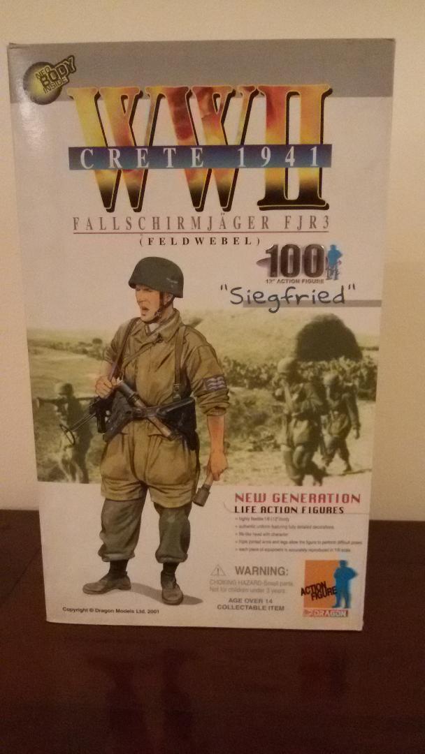 Action figure scala 1 6 Paracadutista Tedesco WWII