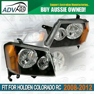 L-amp-R-Head-Light-Set-for-06-2008-05-2012-fit-HOLDEN-COLORADO-RC-2-4DR-UTE