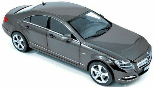 NOREV 2010 Mercedes-Benz CLS 350 TENORIT gris 1 18 objet neuf