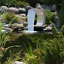Edelstahl Schwalldusche Wasserfall Pool Fontäne Schwallbrause Garten Schwimmbad