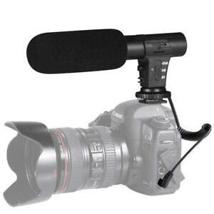 New-External-Interview-Video-Recording-Camera-Microphone-for-Nikon-Canon-DSLR-DV