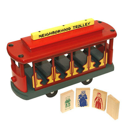 Holgate Toys Mister Rogers Neighborhood Trolley Ebay