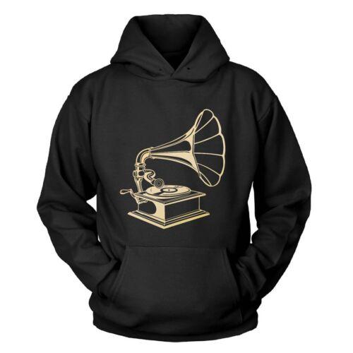 Grammophon Kapuzenpullover