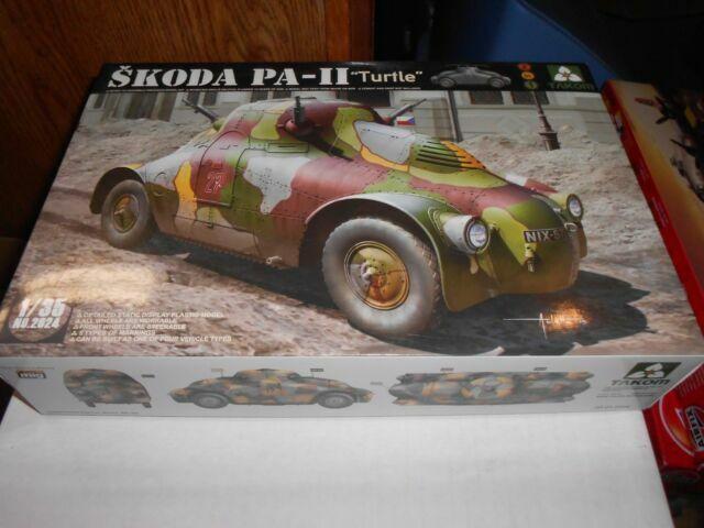 Takom 2024 1//35 WWII Skoda PA-II Turtle