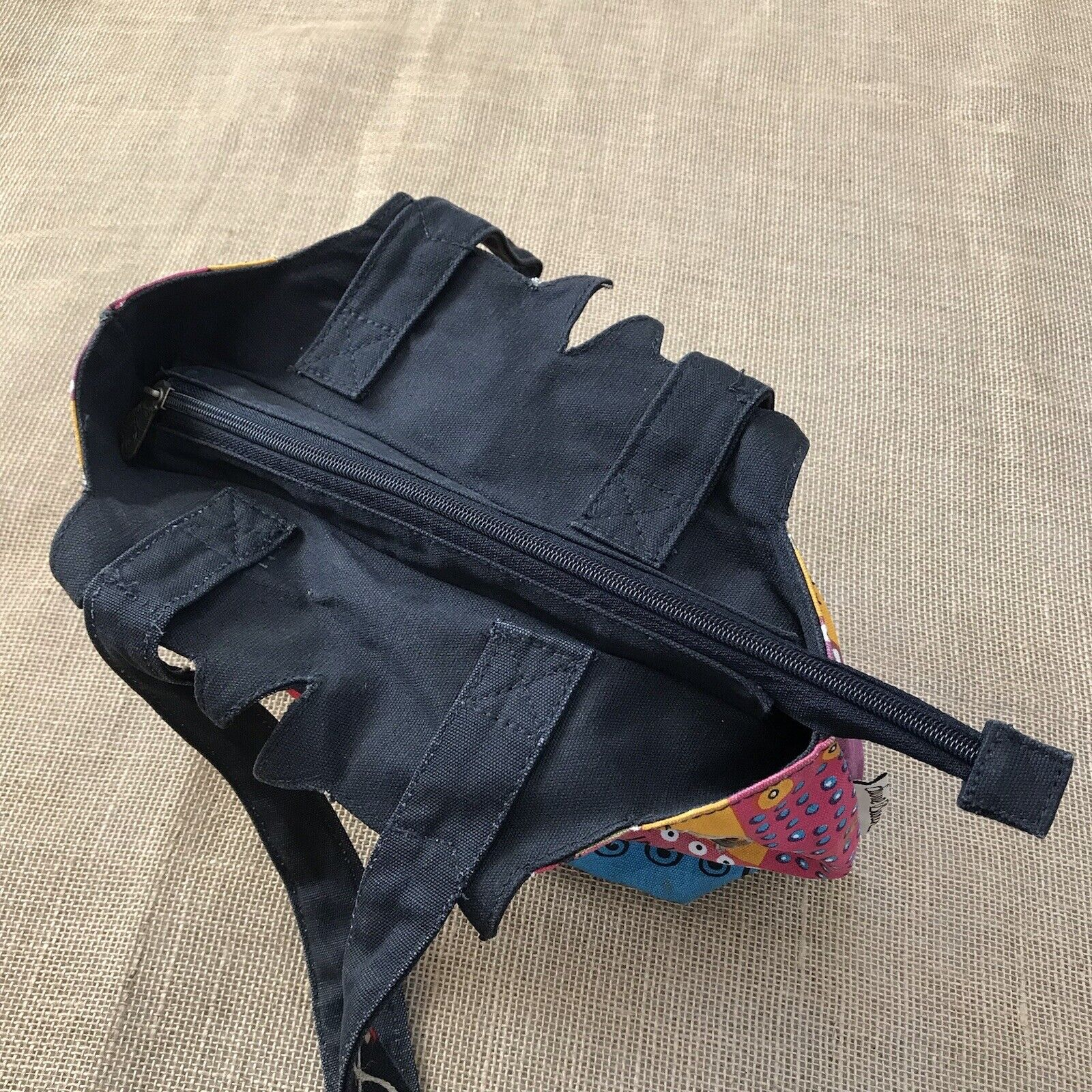 Laurel Burch Feline Cat Hand Bag Shoulder Bag Zip… - image 7