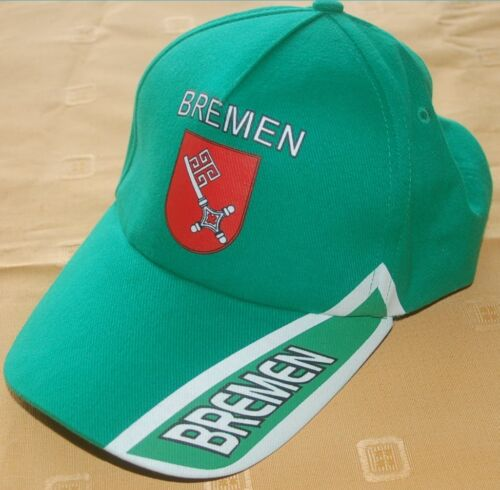 Bremen grün Baseballcap Baseball Cap Fan Capy